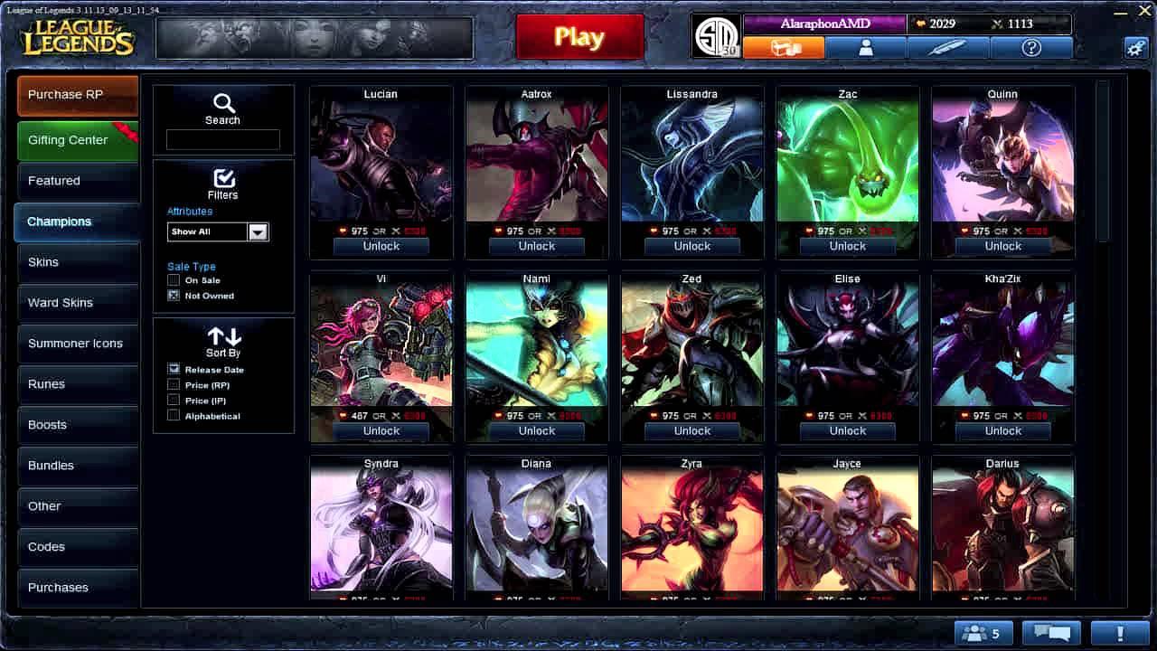 League Of Legends Rp Tournaments