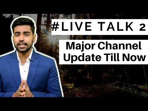 #Live Talk 2 - Major Channel Updates | Live Chat | Career | MBA | Btech | Career Selection