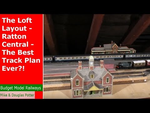 The Loft Layout – Ratton Central – The Best Track Plan Ever?!