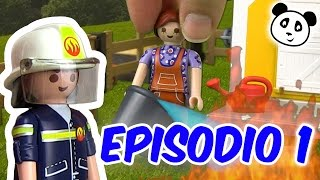 🚨 Playmobil Bomberos 🎆  Noche de Año nuevo 1 - Pandido TV