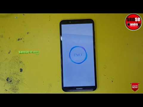 Huawei Y7 prime 2018 (LDN-L21) screen lock & hard reset don