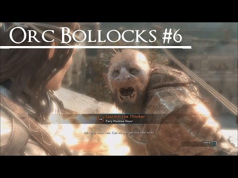 Shadow of War: Middle Earth™ - Orc Bollocks Quotes #6