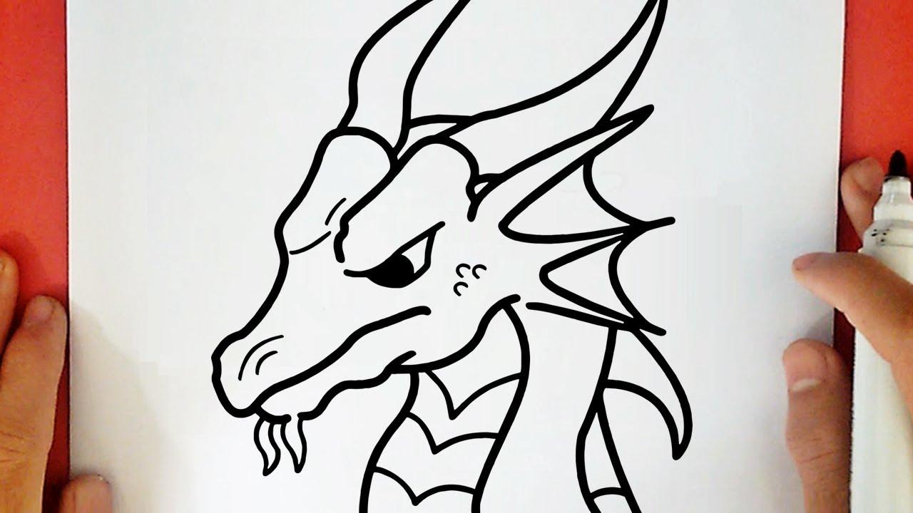 Comment Dessiner Un Dragon Youtube