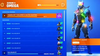 The New MAX OMEGA CHALLENGES in Fortnite..