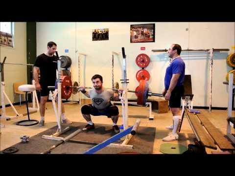 Romain P. - Team SuperPower - 8@220 kg au Squat