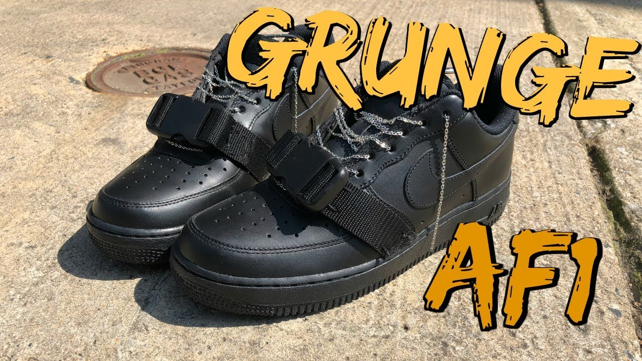 DIY Nike Air Force 1 | How To Customize