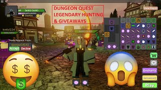 [🔴LIVE] ROBLOX | #ROADTO1K |⚔️ DUNGEON QUEST ⚔️| 💪 [LVL 89] 💪 | GIVEAWAYS