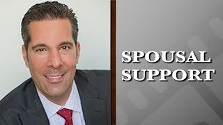 How do New York courts determine the amount and length of spousal support?