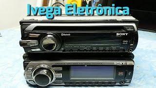 Rádio Sony não liga, saiba porque.