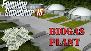 Farming Simulator 2015 Biogas Plant [ Selling Silage ] Gameplay and Commentary 1080p