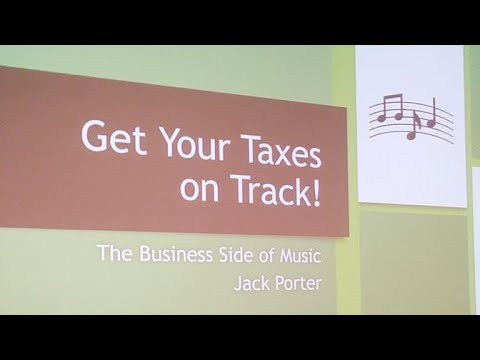 Taxes For Musicians - DC Music Summit 2020