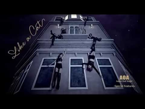 AOA(Ace Of Angels) - Like a Cat (Japanese ver) (Making MV & Photoshoot)