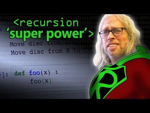 Recursion 'Super Power' (in Python) - Computerphile