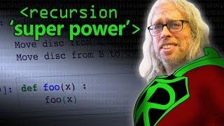 Recursion 'Super Power' (in Python) - Computerphile