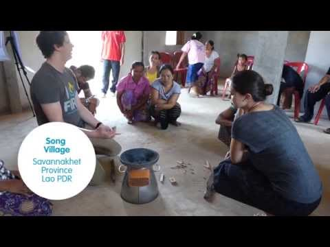Testing Advanced Clean Cookstoves in Laos