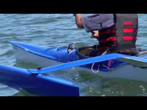 TRIAK Trimaran Sailing Kayak