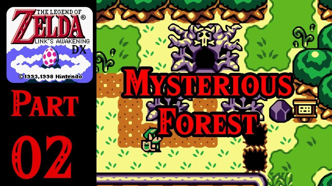 Zelda Links Awakening Dx 100 Walkthrough Part 2 Mysterious Woods
