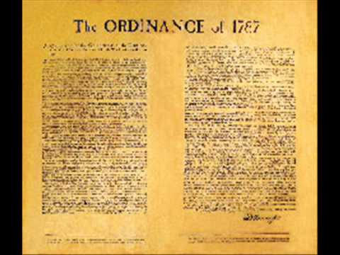 what was the northwest ordinance of 1787