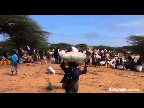 Somali drought refugees head to Mogadishu