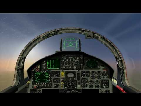 Lock-On F -15C training 05 - AIM-120/AIM-7 Auto acquisition modes and Home on Jam