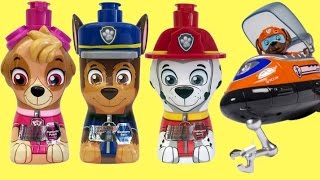 Puppy 3-in-1 Bath Products with Zuma & Ryder Bath Time TOY Surprises