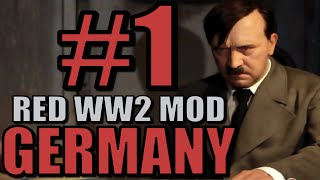 Let's Play Civilization 5: World War 2 Germany - Part 1 [Red WW2 Mods Gameplay](Let's Play Civilization 5 Red WW2 Mods Gameplay as Germany! Civilization 5 - Red WW2 Mod ..., 2015-04-09T14:00:01.000Z)