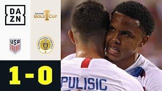 Weston McKennie und Christian Pulisic führen USA ins Halbfinale: USA - Curacao 1:0 | Gold Cup | DAZN