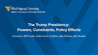 Political Science Panel: Discussing the Trump Presidency