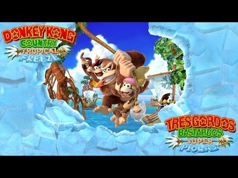 Reseña Donkey Kong Country: Tropical Freeze   3 Gordos Bastardos