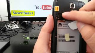 Como colocar una tarjeta sim card Huawei Ascend G610 comoconfigurar
