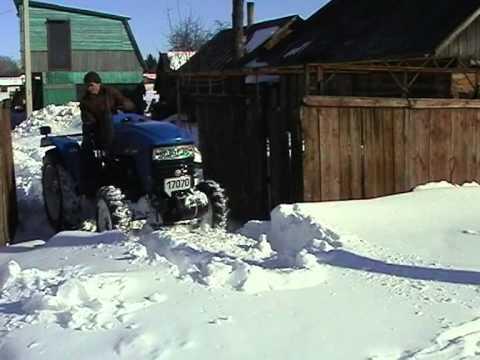 Как заводить мтз 82.1 в мороз - YouTube