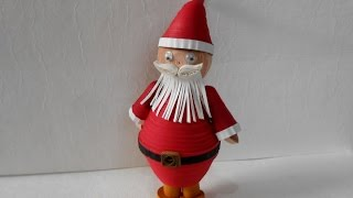 3D Quilling Santa - Christmas Special Tutorial
