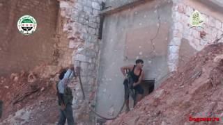 30 06 2016  Сирия Ожесточенные городские бои   Syria  Intense urban combat