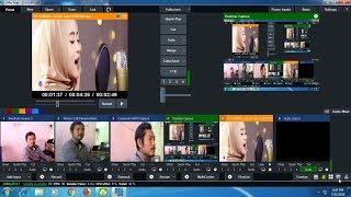 BELAJAR VMIX - 3 Kamera, Kamera HP, Handycam & Web Cam - Input Audio Dari Mixer