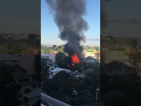 Apartment burns to ground in West Palm Beach