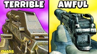 The WORST SMG in Every Call of Duty