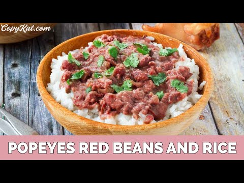Popeye's Red Beans and Rice - CopyKat.com