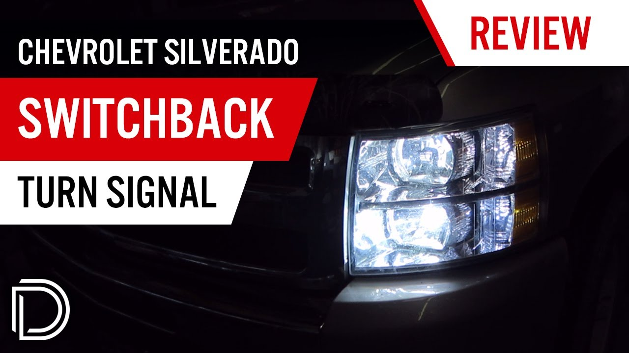 Chevy Silverado Switchback Dual Color LED Turn Signals - YouTube