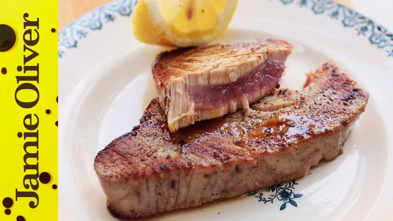 How To Cook Tuna Steak  Jamie Oliver