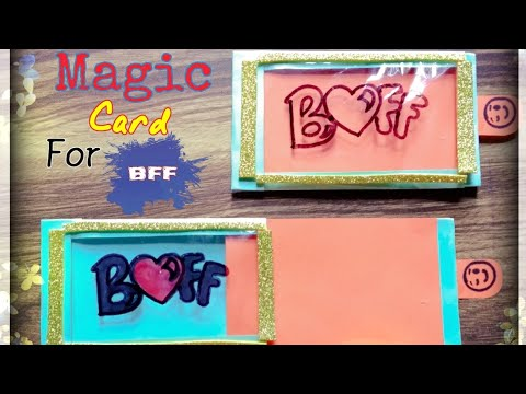 DIY magical card tutorial for #BFF