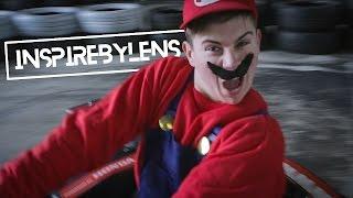 Mario Kart in REAL LIFE!