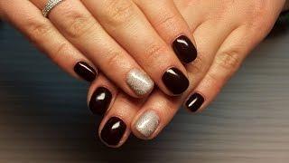 Дизайн ногтей гель-лак Shellac - Слайдер дизайн ногтей (уроки дизайна ногтей)