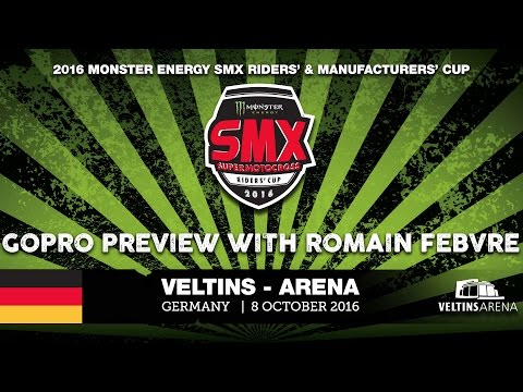 Arena Monster Energy SMX Riders' Cup, Germany 2016