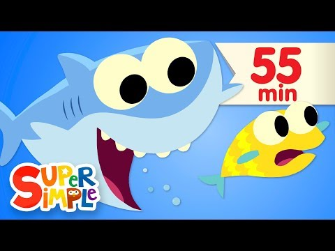 Ba Shark  + More Kids Songs  Super Simple Songs