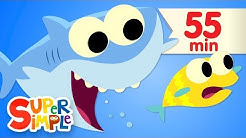 Baby Shark - featuring Finny The Shark | + More Kids Songs | Super Simple Songs