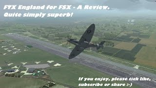 ORBX FTX England scenery for FSX/P3D review. How much better is it than FTX Global / default?
