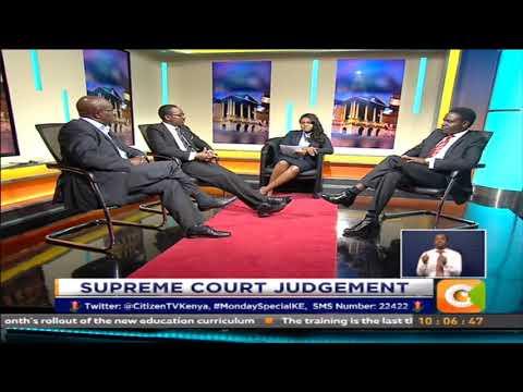 Monday Special : The Supreme Court Judgement