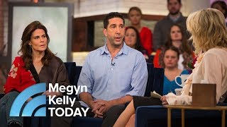 Actor David Schwimmer Talks About 'That's Harassment' PSAs, 'Friends' Reunion | Megyn Kelly TODAY