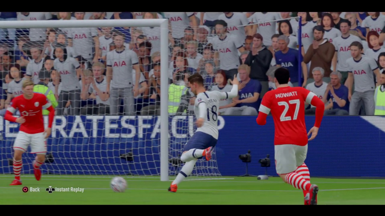 FIFA 20 Goal Lo Celso - YouTube