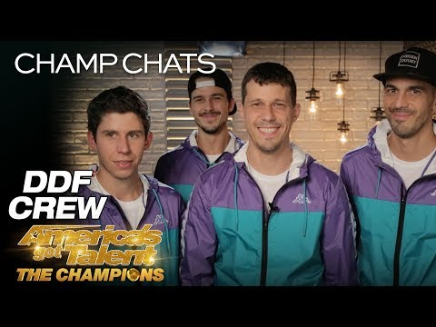 DDF Crew Describes Performing On The World's Biggest Stage - America's Got Talent: The Champions